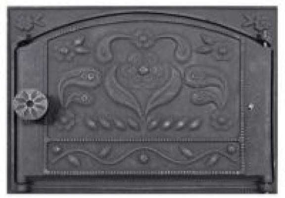 Дверка каминная ДТК-2 (Балезинский литейно-механический завод)