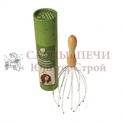 Массажер для головы Антистресс в дисплей-боксе уп24,  , 14502, Банные штучки