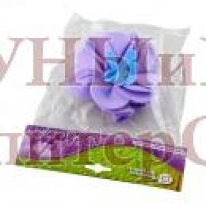 Мочалка для нежной и чувствительной кожи Цветок уп20,  , 40084, Банные штучки