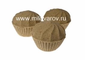 Мыловаров Формованная бурлящая бомба Шоколадное мороженое, MYLO0416-0180