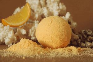 Мыловаров Шарик для ванны Апельсиновый фреш, MYLO0088-0125
