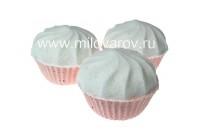 Мыловаров Формованная бурлящая бомба Клубничное мороженое, MYLO0414-0180