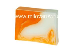 Мыловаров Глицериновое мыло ручной работы Апельсиновый фреш, MYLO0119-0100