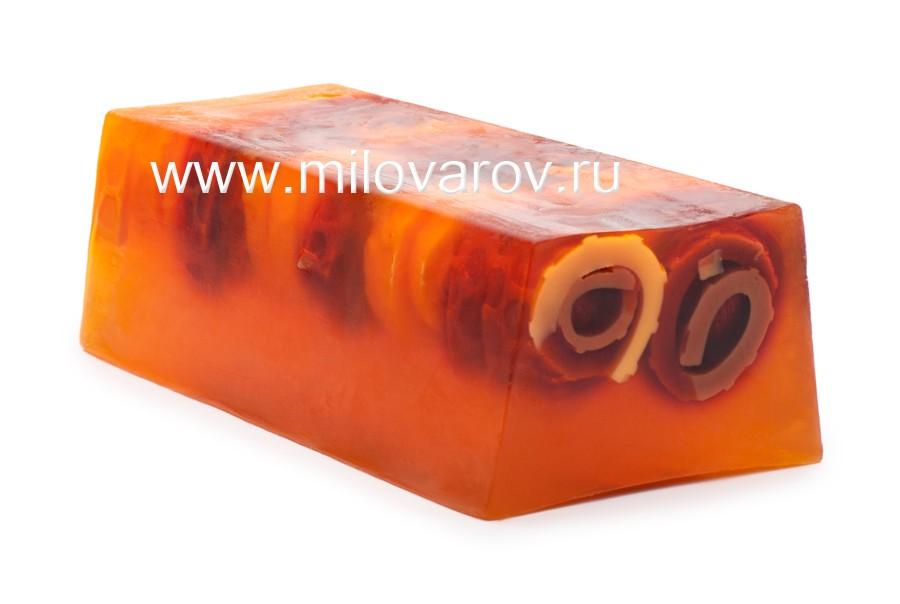 Мыловаров Глицериновое мыло ручной работы Апельсин с корицей, MYLO0118-0100