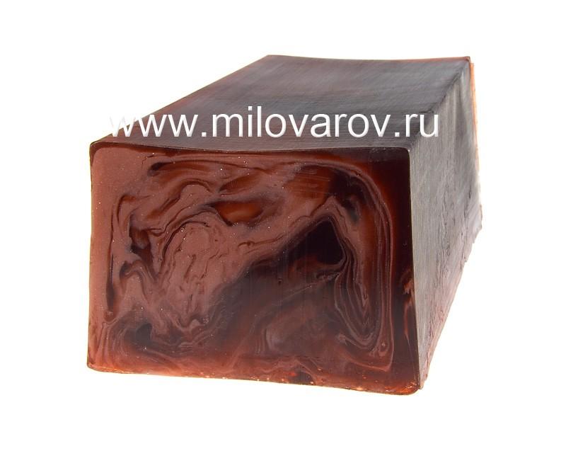 Мыловаров Глицериновое мыло ручной работы Горячий шоколад (с маслом какао), MYLO0128-0100