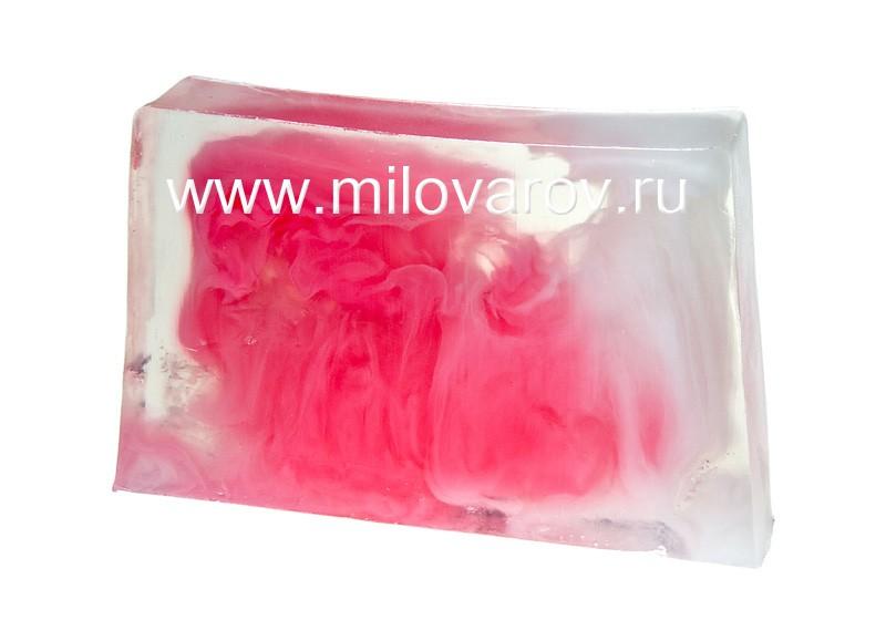Мыловаров Глицериновое мыло ручной работы Клубника со сливками, MYLO0133-0100