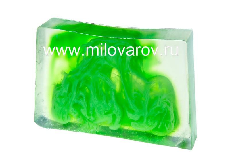Мыловаров Глицериновое мыло ручной работы Лайм и чайные листочки, MYLO0137-0100