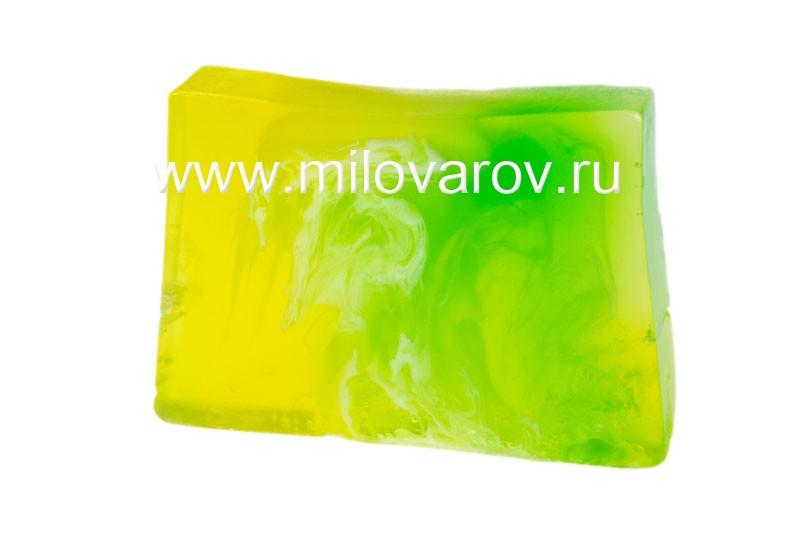 Мыловаров Глицериновое мыло ручной работы Лимонная свежесть (с эфирным маслом лимона), MYLO0139-0100