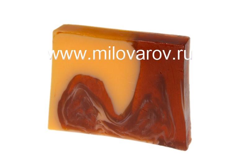 Мыловаров Глицериновое мыло ручной работы Мандарин в шоколаде, MYLO0143-0100