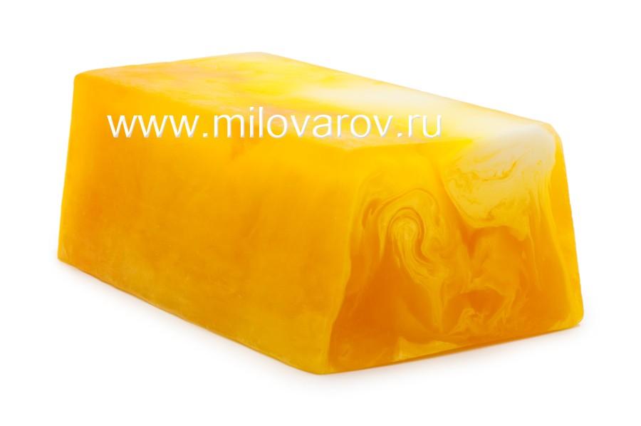 Мыловаров Глицериновое мыло ручной работы Медовый месяц, MYLO0145-0100