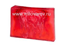 Мыловаров Глицериновое мыло ручной работы Земляничное искушение, MYLO0131-0100