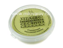 Мыловаров Очищающая крем-плитка для душа Медово-овсяная, MYLO0036-0090