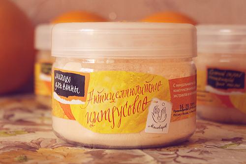 Мыловаров Молоко для ванны Антицеллюлитное цитрусовое, MYLO0055-1000