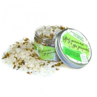 Мыловаров Соль для ванны развесная Раз ромашка, два ромашка…(с цветками ромашки и эфирным маслом чайного дерева), MYLO0367-0500