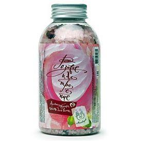 Мыловаров Соль для ванны в банке Розовое настроение (с лепестками роз), MYLO0054-0500
