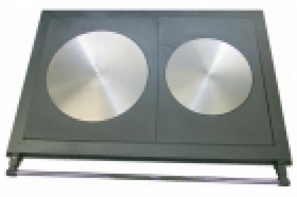 PISLA HTT 3 A Плита двухкомфорочная, чёрная, чугунная 40300010