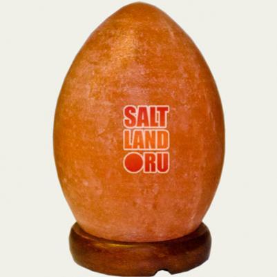 Соляная лампа Яйцо из гималайской соли, СЛ