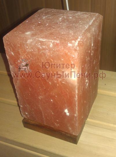Соляная лампа Прямоугольник из гималайской соли, СЛ