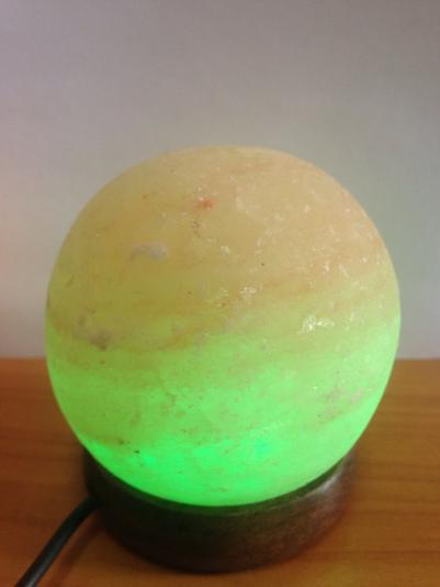 Соляная лампа шар, USB