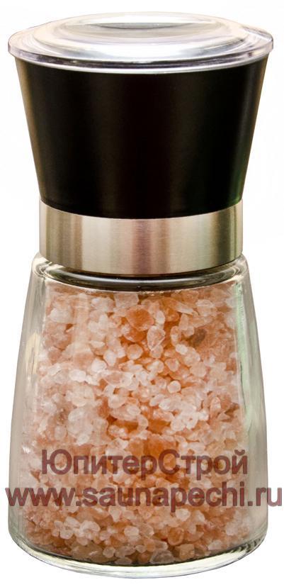 Гималайская розовая соль в солонке (Мельница), СЛ