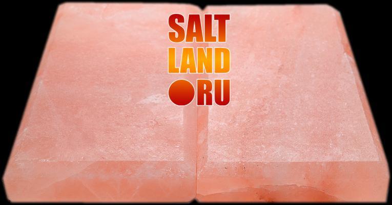 Плитка из гималайской соли, 200х100х25, с фаской