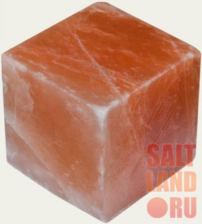 Куб из гималайской розовой соли, 100х100х100мм, шлифованный со всех сторон, СЛ