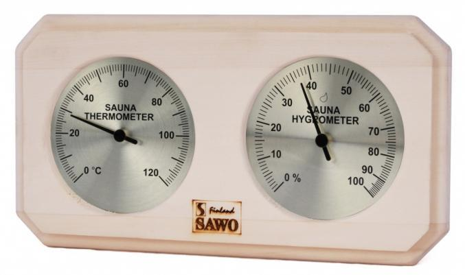 SAWO Термогигрометр для сауны 221-THP