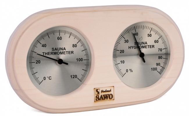SAWO Термогигрометр для сауны 222-THP