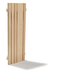TYLO Абажур настенный рейка, осина, 90091017 (Е)
