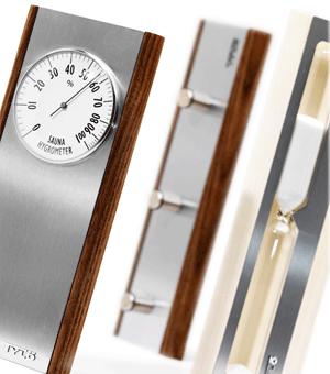 TYLO Гигрометр для сауны DARK, 90152730