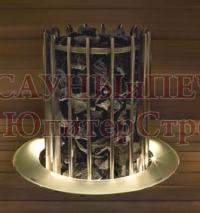 HELO Воротник для электрической печи ROCHER из стекла (сатин), зНН03869