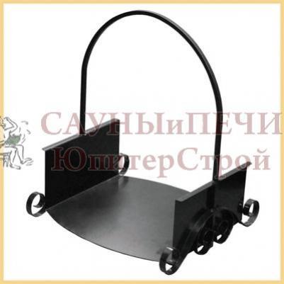 ДРА-12ч Дровница цвет черный .