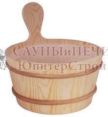 SAWO Кадушка деревянная 3л. с пласт. вст., 330-P