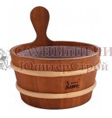 SAWO Кадушка деревянная 3л. с пласт. вст., 330-D