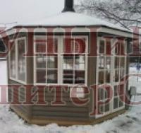 Jalotakka Беседка Satulinna 8-K, гриль Apetit - Tablegrill JTG/8