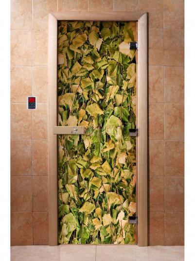 Дверь для сауны DW Фотопечать арт. А001 190х70