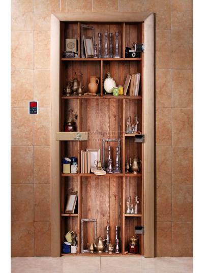 Дверь для сауны DW Фотопечать арт. А006 190х70