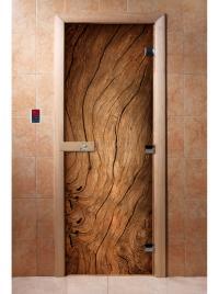 Дверь для сауны DW Фотопечать арт. А052 190х70