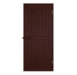 Дверь для сауны деревянная 7/19 из массива термо дуба