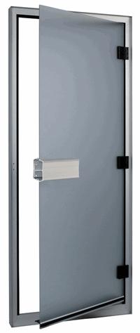 SAWO ƒверь 740-L, коробка алюминий 785 mm x 1850 mm (лева¤), прозрачное стекло, 740-L