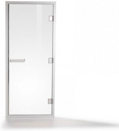 Дверь стеклянная (для турецкой парной), коробка алюминий,  60 G 2020 БЕЛЫЙ ПРОФ�ЛЬ, 90914005, Tylo