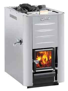 Дровяная печь для бани   Harvia 20 ES Pro Steel, WK200ESST , 6417659001083