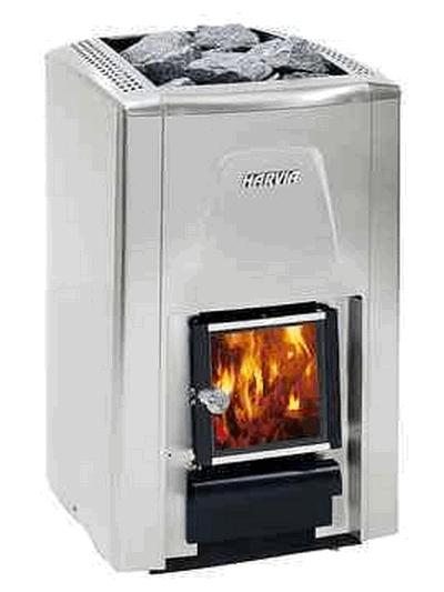 Дровяная печь для бани HARVIA 20 S Premium, WK200S , 6417659013055