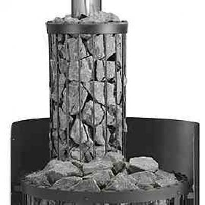 HARVIA Защитное ограждение дымовой трубы, заполняемое камнями, для дровянной печи Legend WL300, 6417659012973