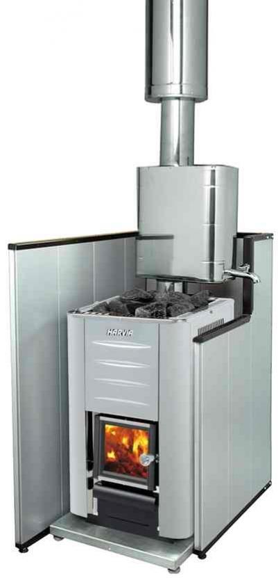 HARVIA Защитная подставка для дровянной печи 470х665х48 WX018, зНН00953