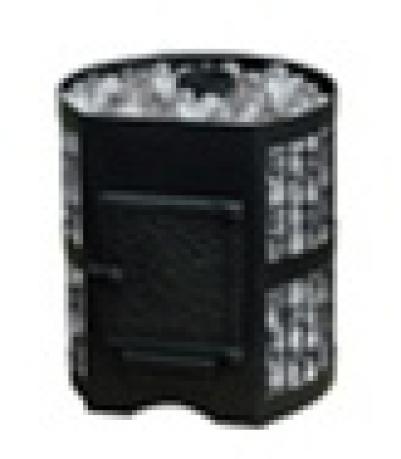 Дровяная печь для бани Везувий СКИФ 22 Ч с чугунной дверцей