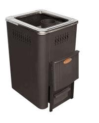 Гори Ясно Дровяная печь для бани NIKA-10К  антрацит.