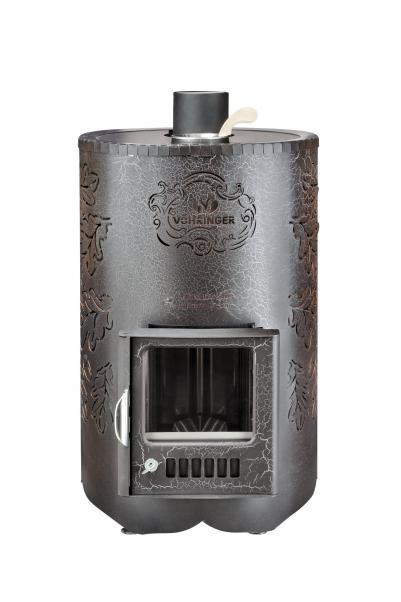 Печь ПФ Уют-18 Стандарт Антик закрытая каменка, произв. ФЕРИНГЕР,  , 14335