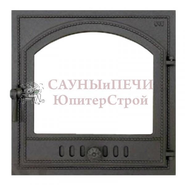 Каминная дверца SVT 405 с переходником для печи Жар-птица