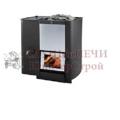 Дровяная печь для бани KASTOR KARHU 20 PK VV, бак слева, артикул 289013